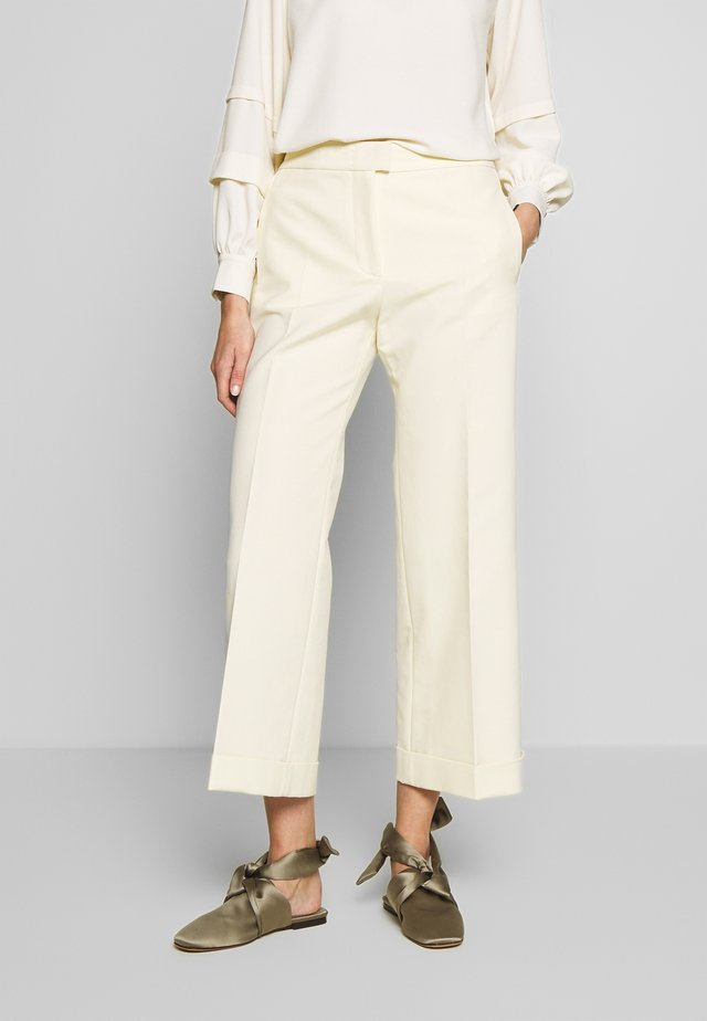 TROUSERS - Trousers - bone