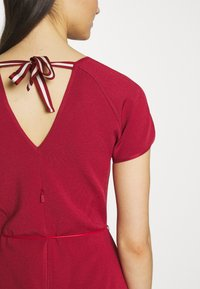 Bally - BELTED DRESS - Jumper dress - red - 5