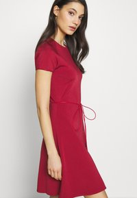 Bally - BELTED DRESS - Jumper dress - red - 4