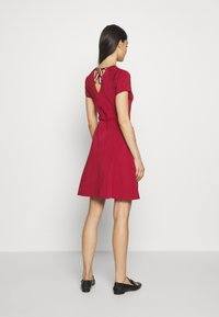 Bally - BELTED DRESS - Jumper dress - red - 2