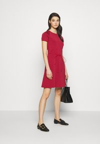 Bally - BELTED DRESS - Jumper dress - red - 1