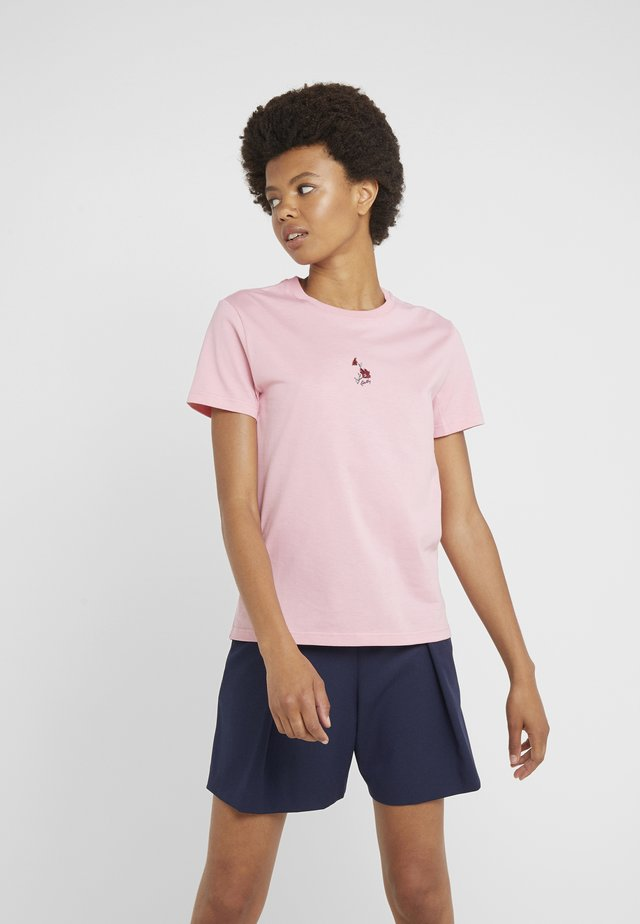 Print T-shirt - peony