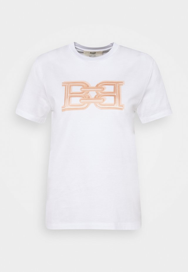 CLASSIC TEE - T-shirt med print - white