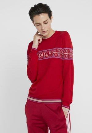 Pullover - cherry