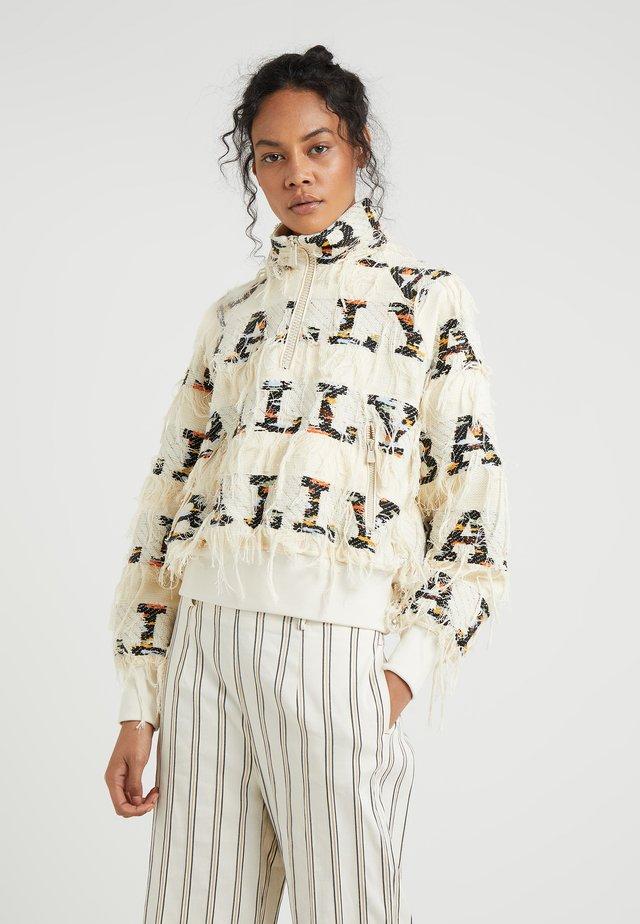 Stickad tröja - multi/bone