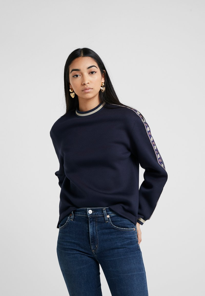 Bally - Sweatshirt - dusty marine