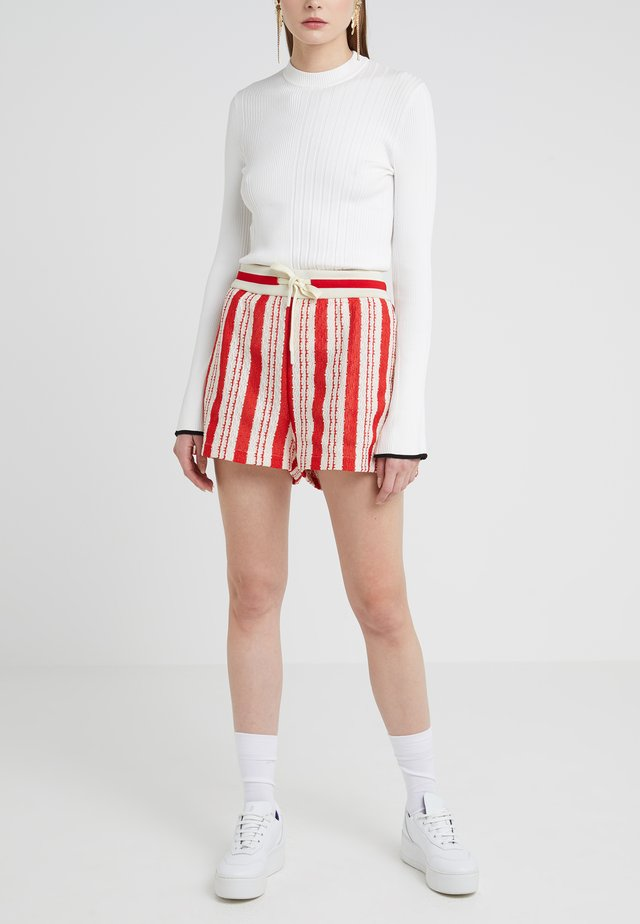 Shorts - multi papavero