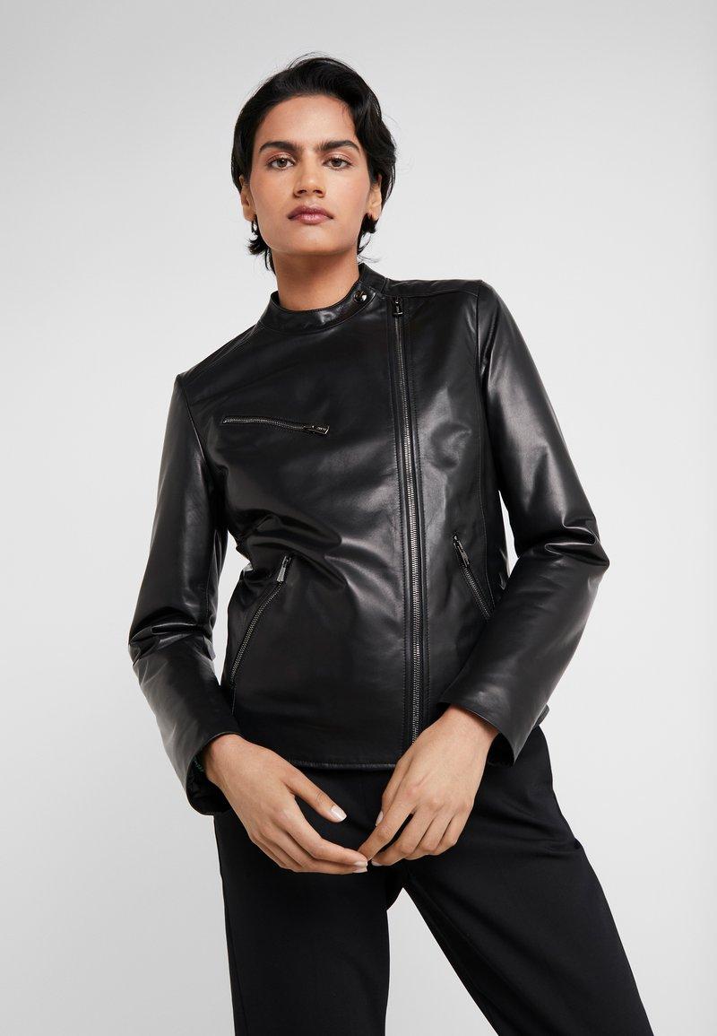 Bally - Kožená bunda - black