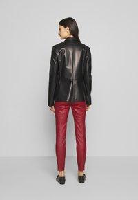 Bally - JACKET BLAZER - Leather jacket - black - 2
