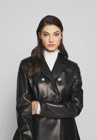 Bally - JACKET BLAZER - Leather jacket - black - 3