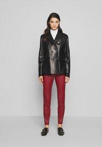 Bally - JACKET BLAZER - Leather jacket - black - 1