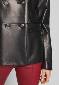 Bally - JACKET BLAZER - Leather jacket - black - 5