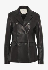 Bally - JACKET BLAZER - Leather jacket - black - 4