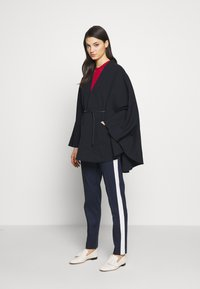 Bally - BELTED CAPE - Poncho - ink - 1