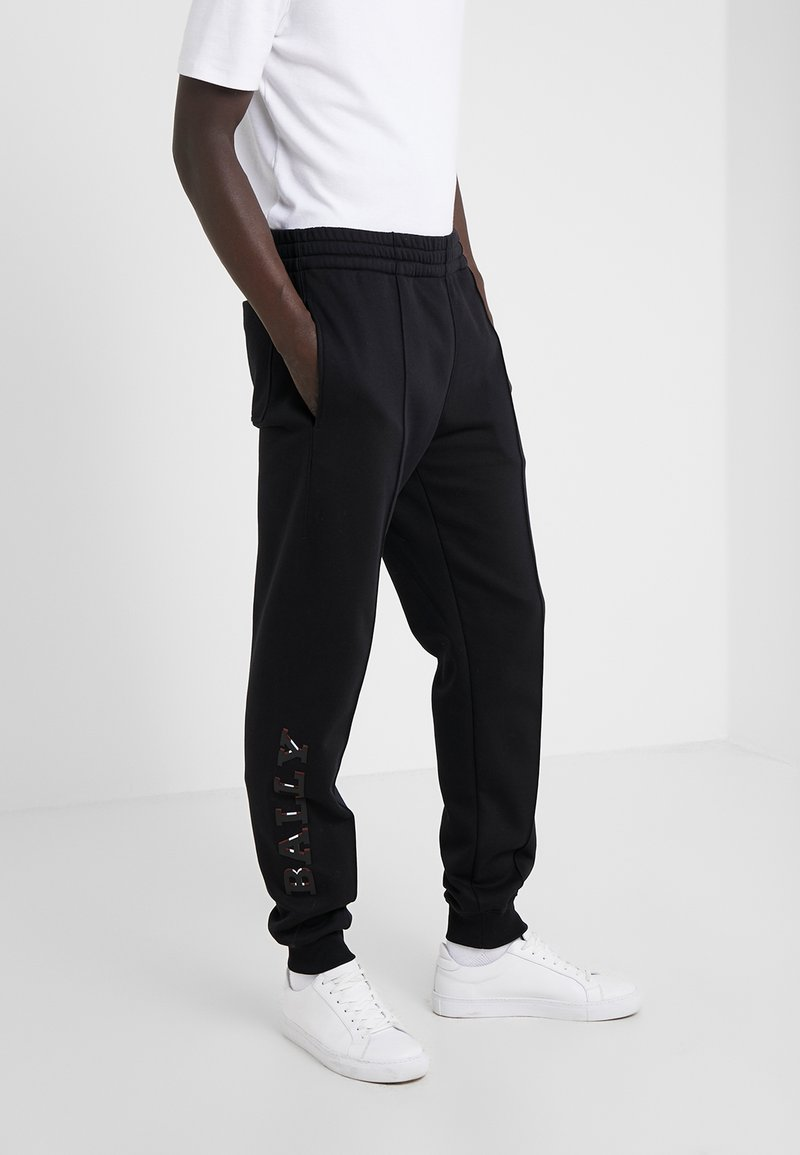 Bally - JOGGER - Tracksuit bottoms - black