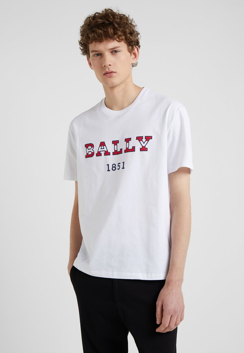 Bally - T-shirt imprimé - white