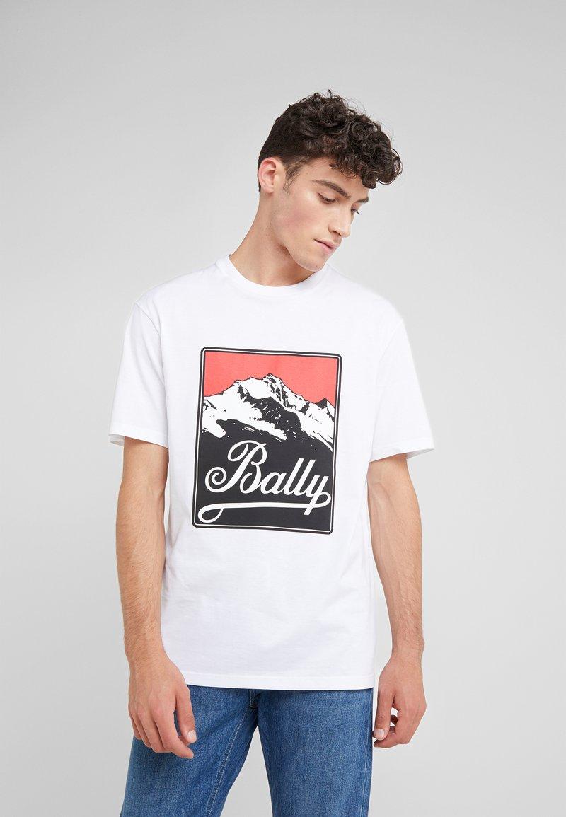 Bally - T-Shirt print - white