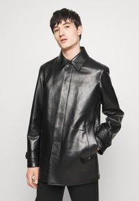 Bally - COAT - Giacca di pelle - black - 0