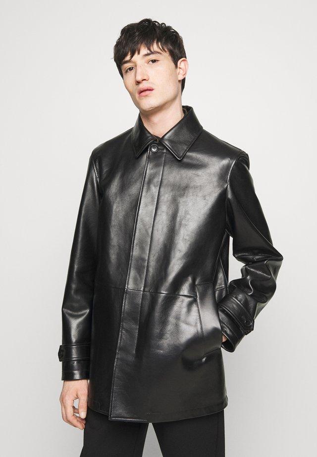 COAT - Skinnjacka - black