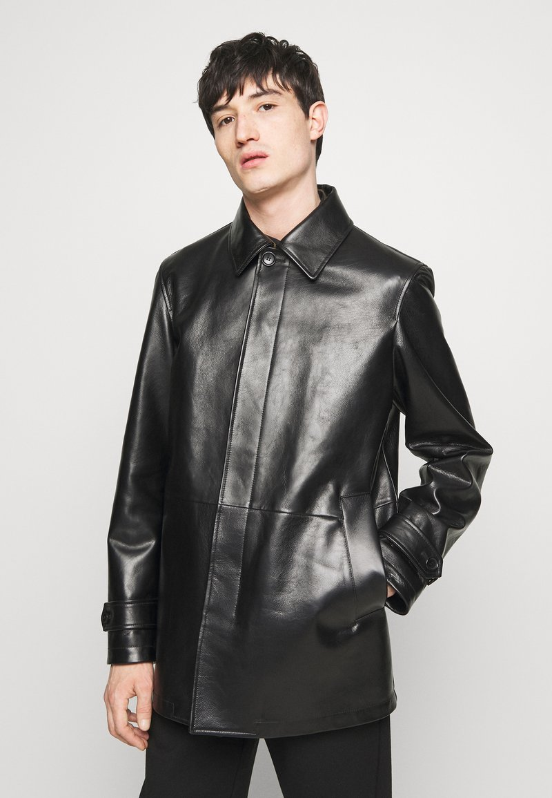 Bally - COAT - Giacca di pelle - black