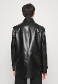 Bally - COAT - Giacca di pelle - black - 2