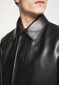 Bally - COAT - Giacca di pelle - black - 5