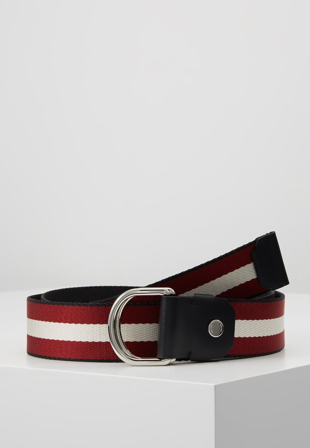 COPPER - Belt - black/bone/red/black