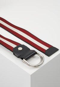 Bally - COPPER - Pásek - black/bone/red/black - 2