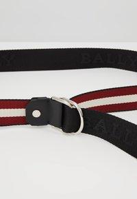 Bally - COPPER - Pásek - black/bone/red/black - 4