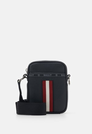 HEYOT - Borsa a tracolla - black/bone/red