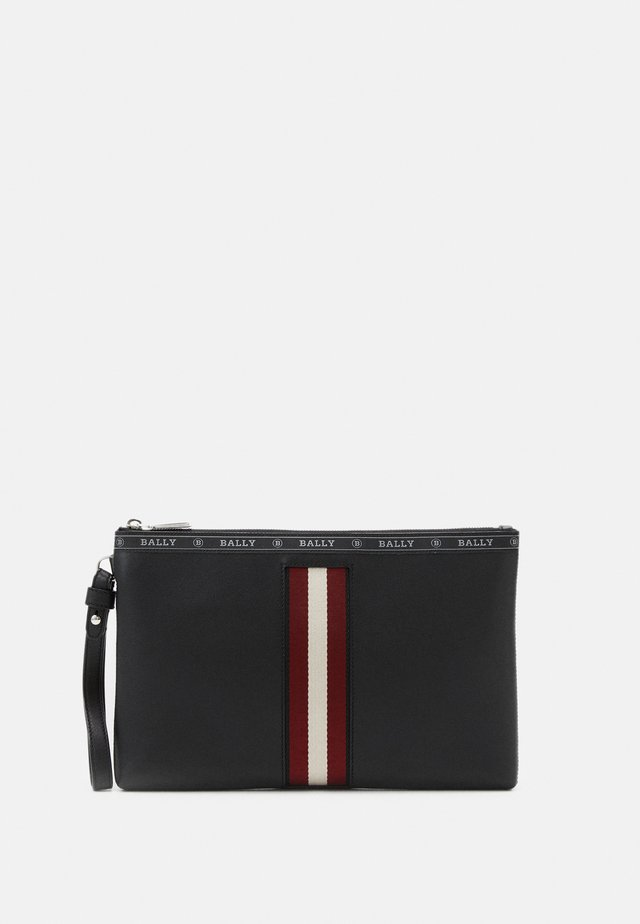 HARTLAND - Notebooktasche - black/bone/red