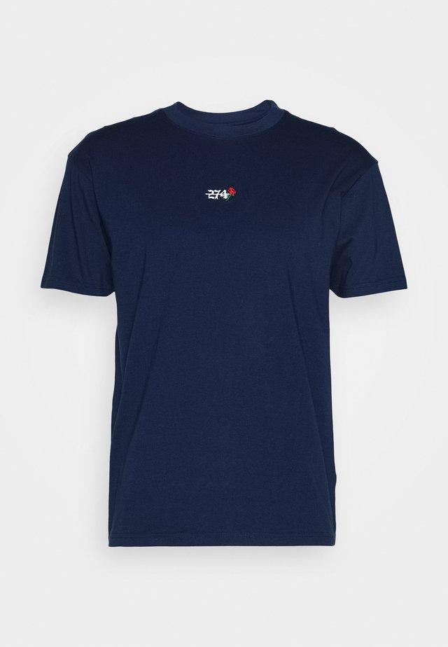 CREEK TEE - T-shirt basic - navy