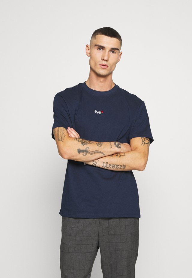 CREEK TEE - Basic T-shirt - navy