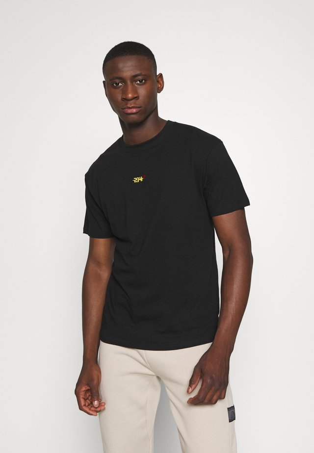 CREEK TEE - T-shirts basic - black