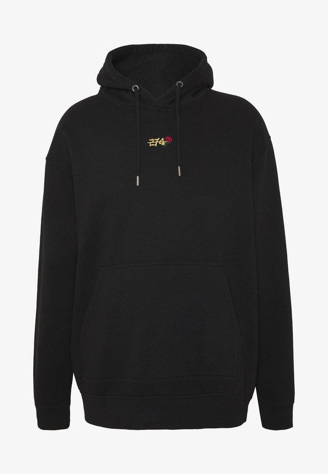 CREEK HOOD - Huppari - black