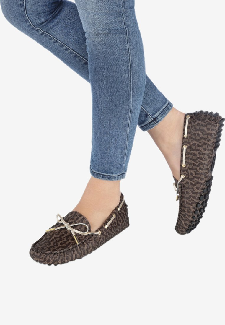Aigner - Boat shoes - mud