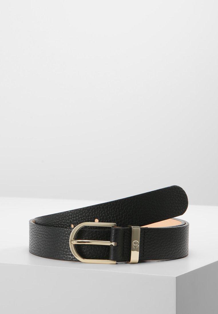 Aigner - BELT - Cinturón - black