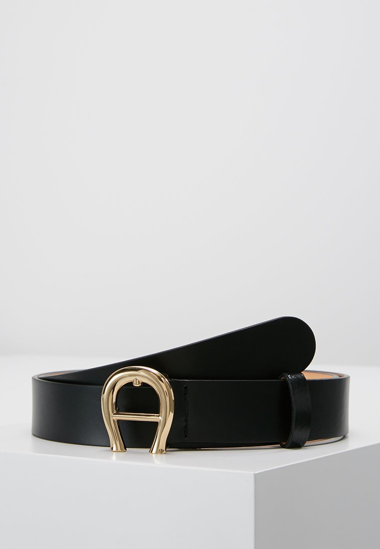 Aigner - BELT - Pasek - black