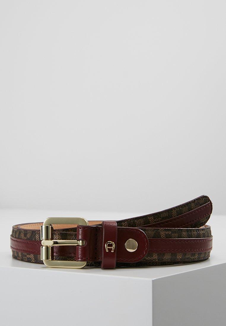 Aigner - BELT - Belt - burgundy
