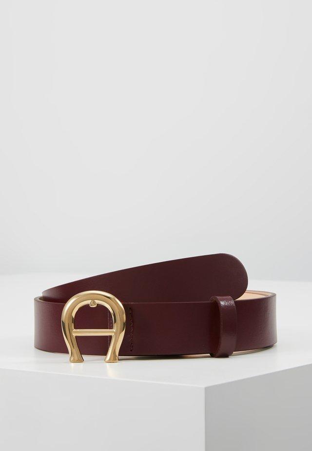 Bælter - burgundy