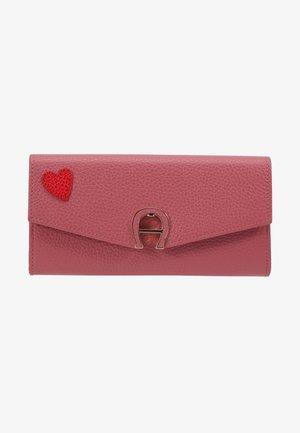 HEART FLAPOVER PURSE - Geldbörse - light pink