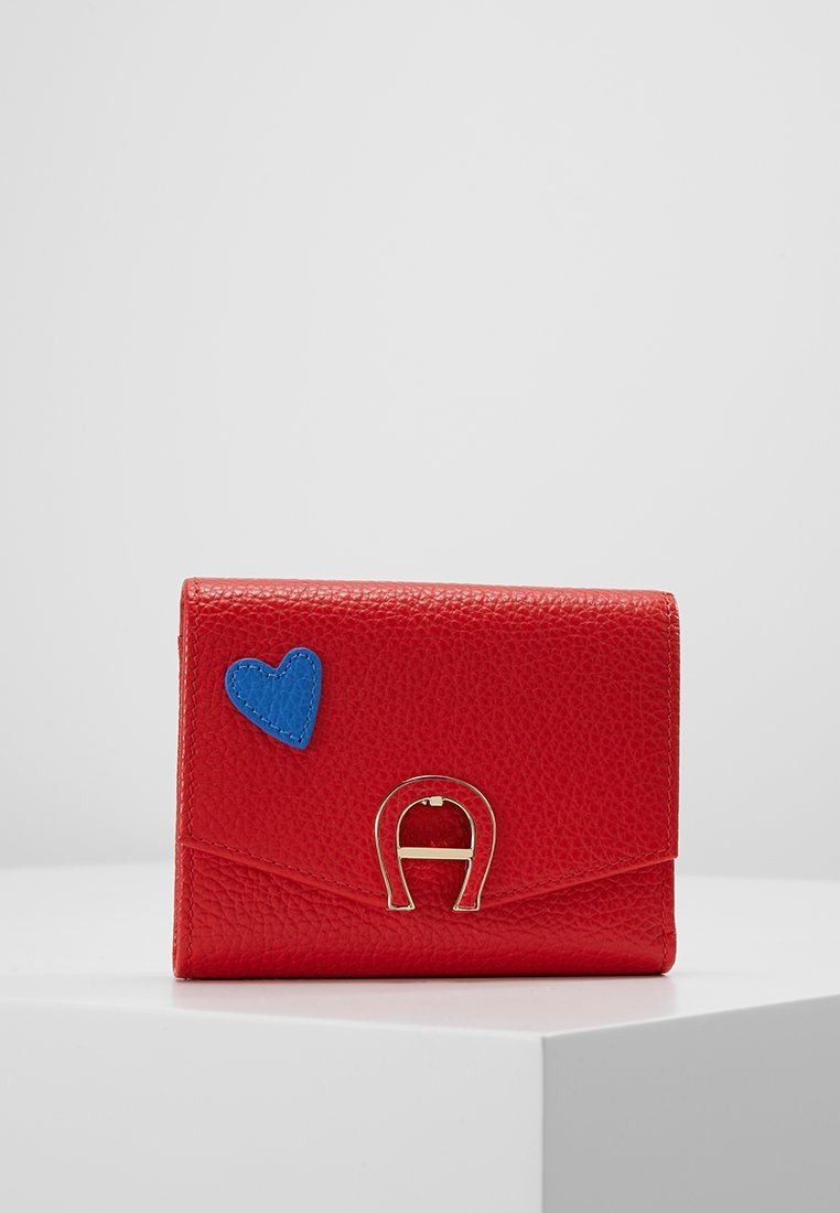 Aigner - SMALL WALLET - Portemonnee - signal red