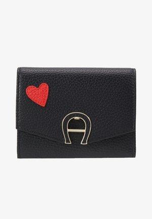 HEART FLAPOVER - Peněženka - black