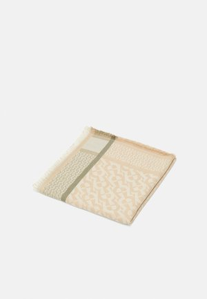 Šátek - beige/olive