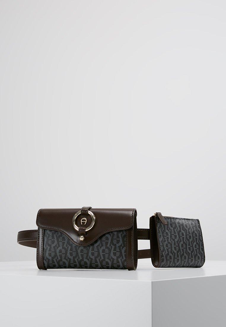 Aigner - BELT BAG - Bæltetasker - ebony