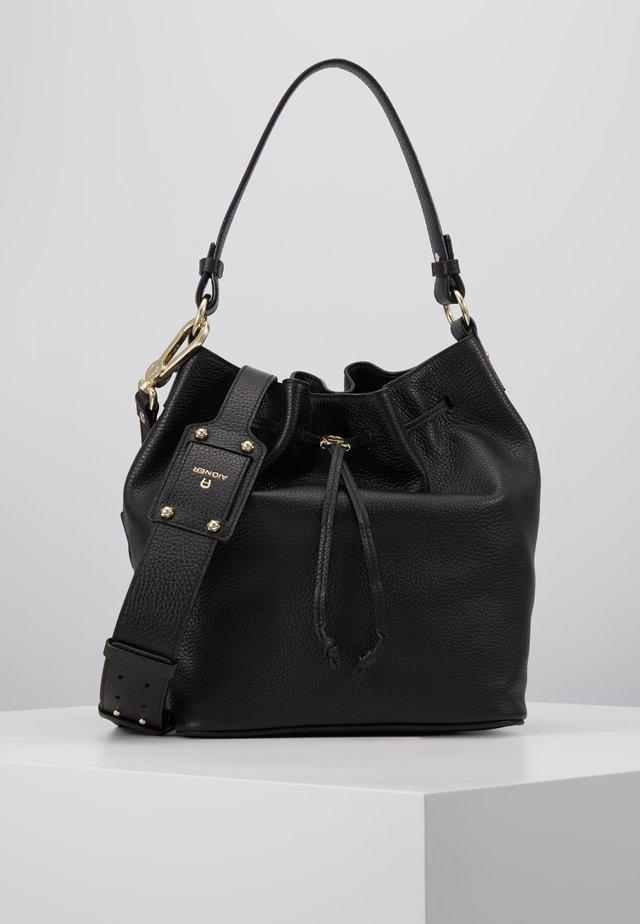 TARA BUCKET - Handtasche - black