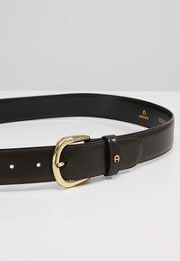 Aigner - Belt - ebony - 4