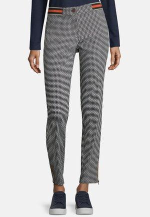 Trousers - dark blue/brown