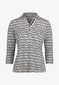 Betty Barclay - MIT KRAGEN - Poloshirt - white/black - 3