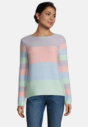 Jumper - blue/rosé